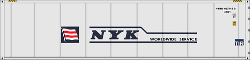 HO - NYK 40´Smooth Side Sea Container
