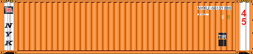 HO - NYK 45' Sea Container