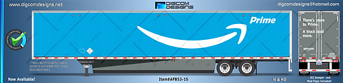 N- Amazon Prime (blue) 53' dry.