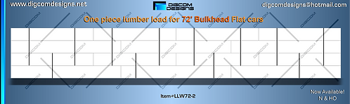 N-Undecorated Lumber Load for 72' Bulkhead