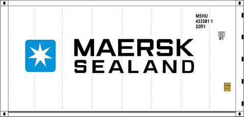 HO - MAERSK SEALAND 20´Sea Container