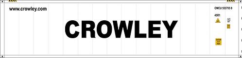 N - CROWLEY 20´Sea Container
