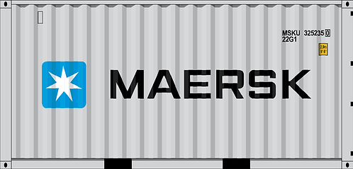 HO-MAERSK 20' dry container