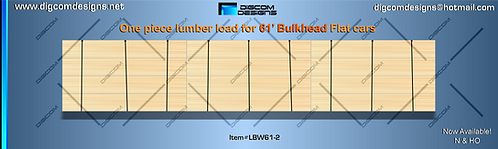 N-Unwrapped Lumber Load for 61' bulkhead