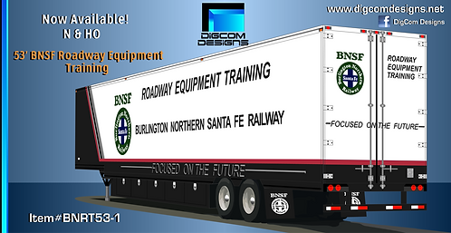 N- 53' BNSF Roadway Equipment Training