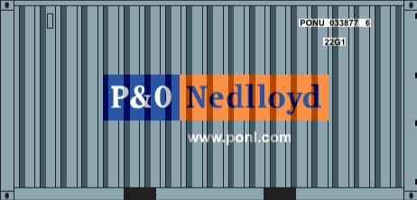 HO-P&O NEDLLOYD 20 DRY