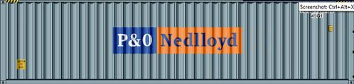 HO-P&O NEDLLOYD 40 DRY