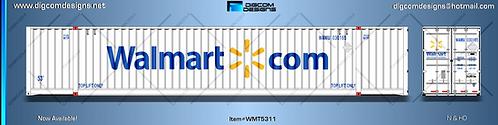 HO-  Walmart.com 53' Container