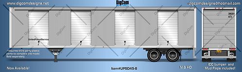 N-45' UPS Next Day Air Cargo