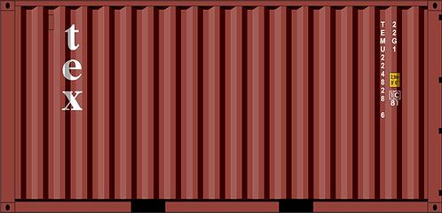 HO - TEX 20´Sea Container