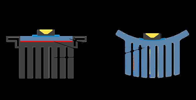 Kunststoffkühlkörper