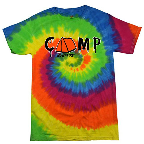 Camp Nowhere Tie- Dye T-Shirt