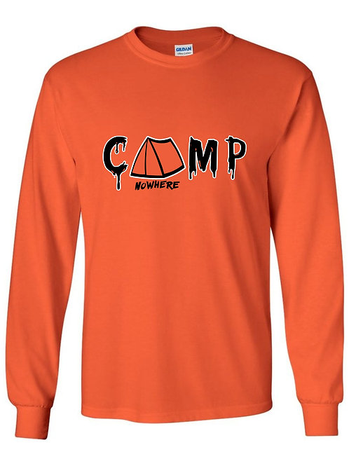 Camp Nowhere Classic Orange Long sleeve