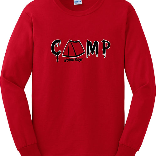 Camp Nowhere Classic Red Long sleeve