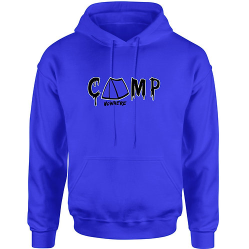 Camp Nowhere Royal Blue Hood