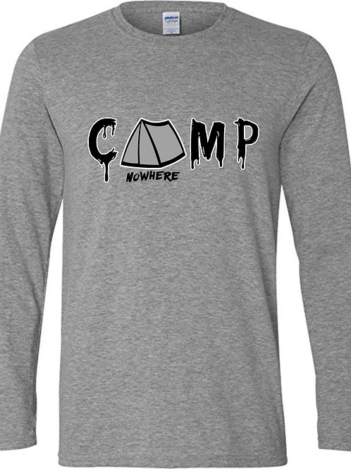 Camp Nowhere Sports Grey Classic  Unisex Long sleeve