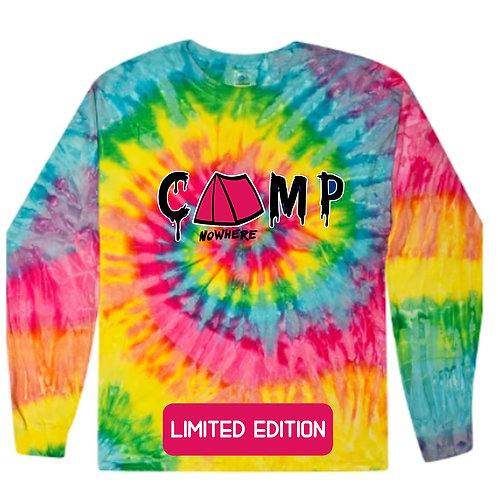 Camp Nowhere Limited Edition Tye-dye  Unisex Long sleeve