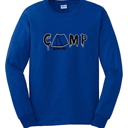 Camp Nowhere Classic Royal Blue Long sleeve