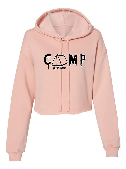 Ladies Camp Nowhere Crop Hoody