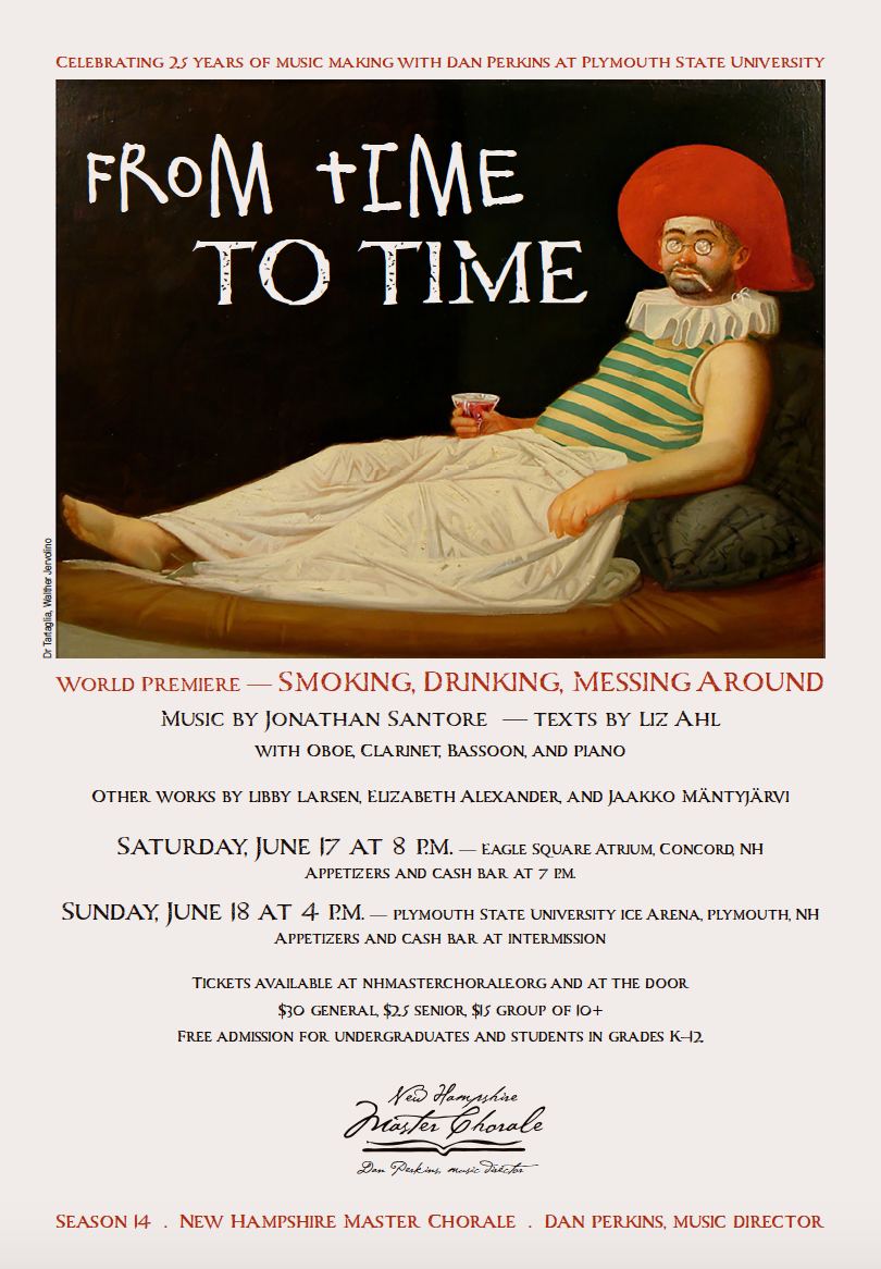 """""""From Time to Time"""" Poster"""
