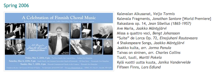 A Celebration of Finnish Choral ...