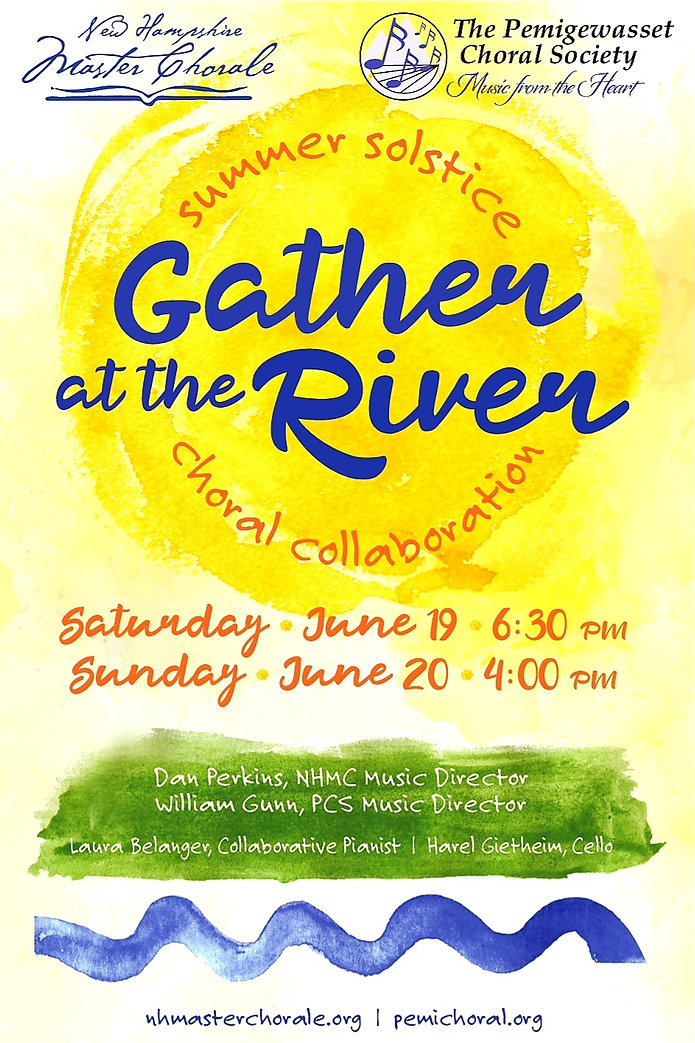 Gather at the River Poster