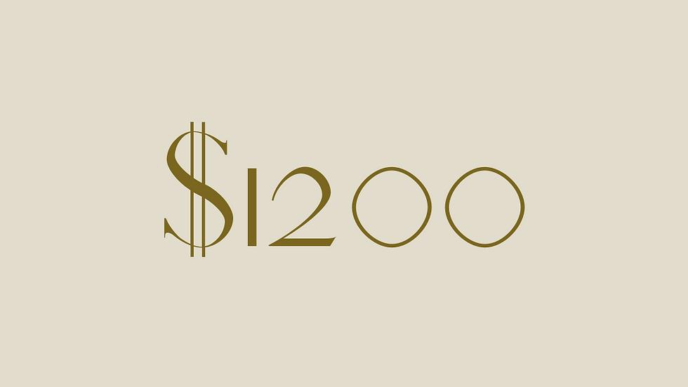 $1200 GIFT VOUCHER
