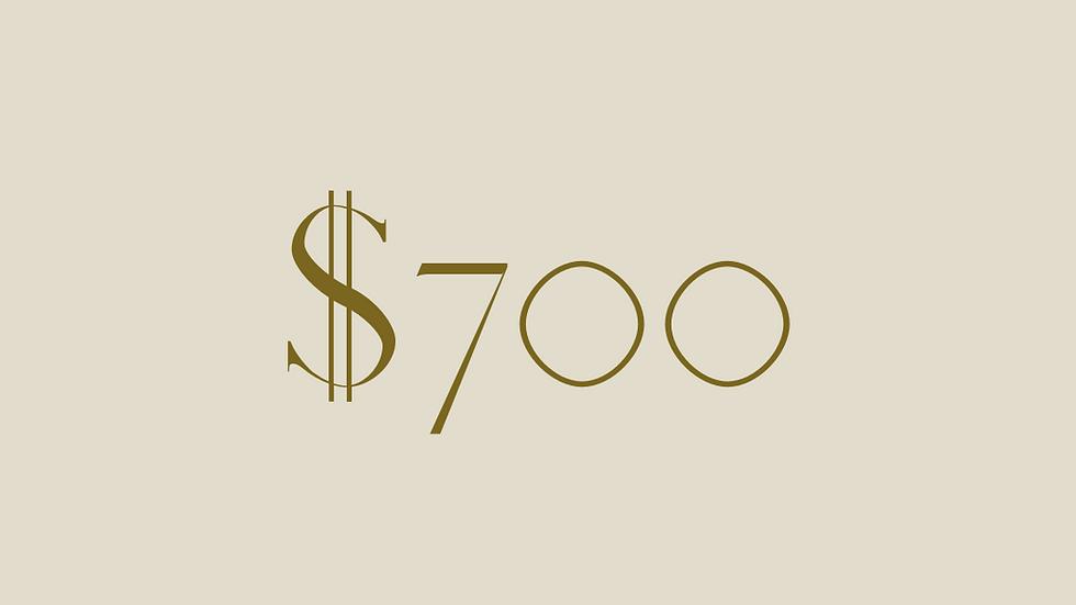 $700 GIFT VOUCHER