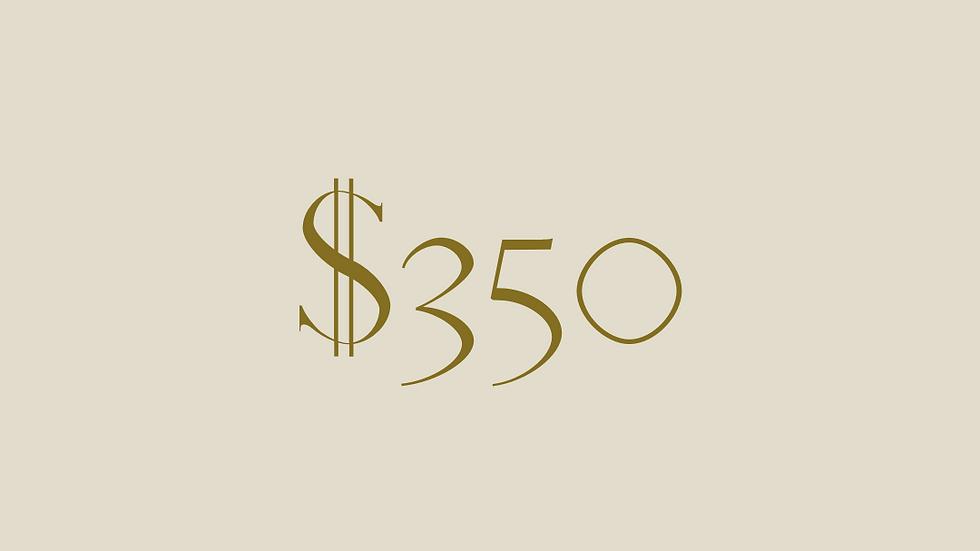 $350 GIFT VOUCHER