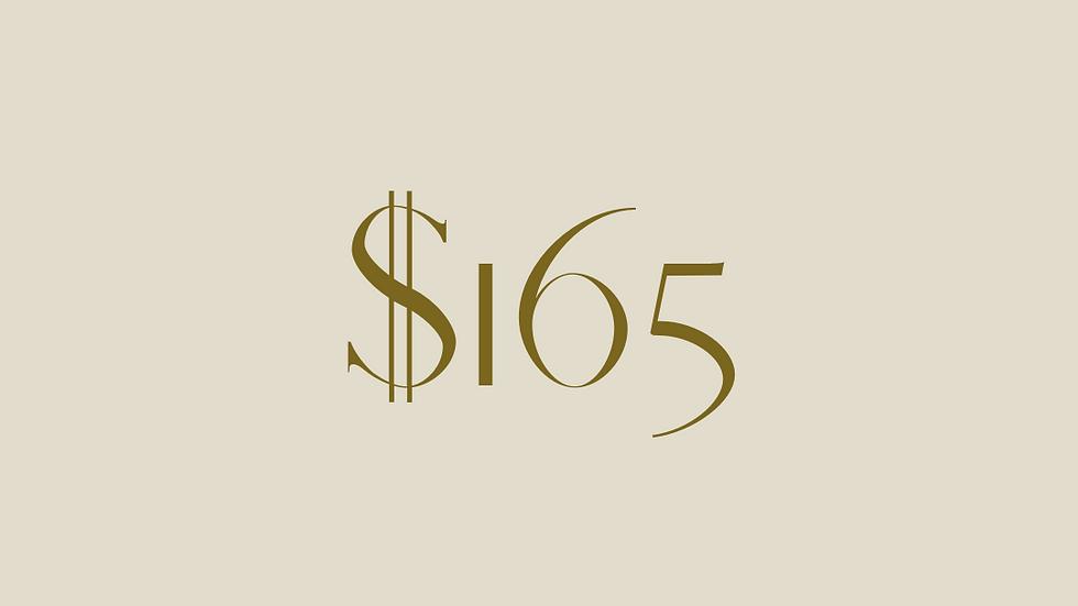 $165 GIFT VOUCHER