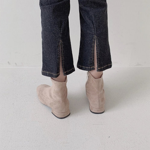 Ankle Back Point Jeans