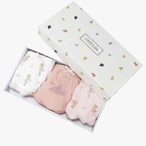Ballet Princess Panties set