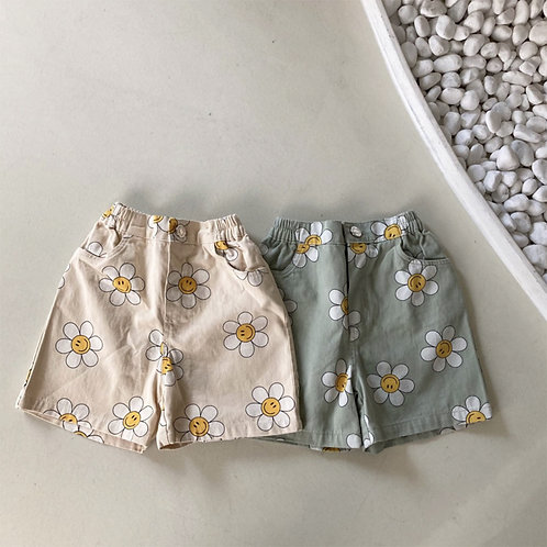 Smile Pattern Shorts