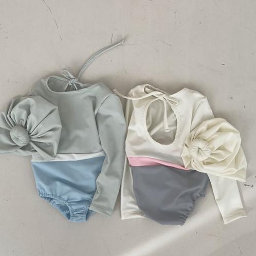 Macaroon Swim Suit SET