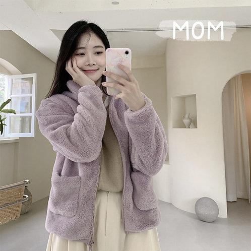 Mom and Daddy Fleece Jacket