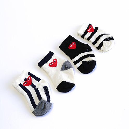KKOM Heart socks