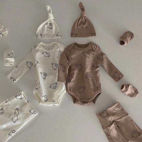 Bear Baby Suit Set