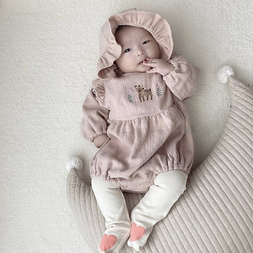 Embroidery Bambi Suit