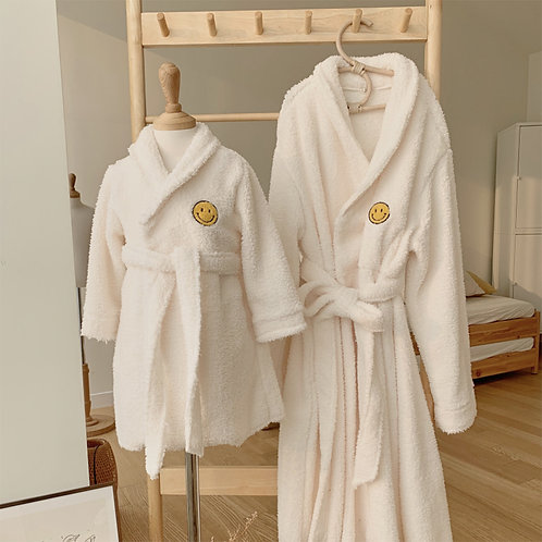 Smile Bathrobe
