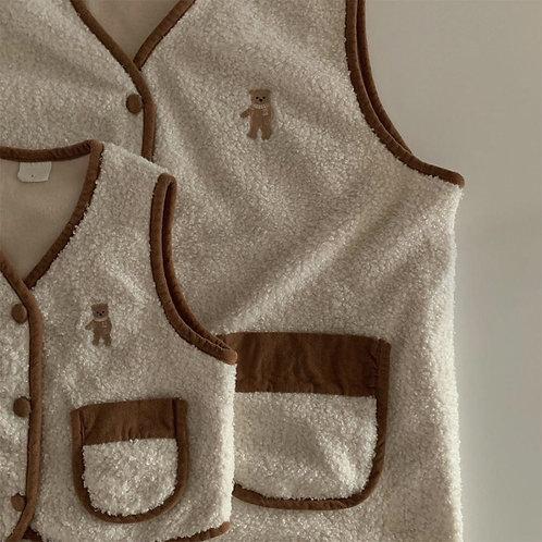 Curly Bear Vest
