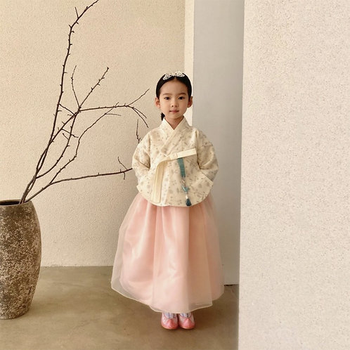 Lux Hanbok Girl Set