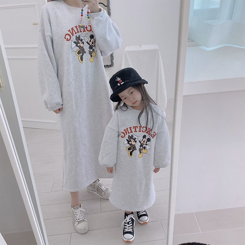 Leo Mickey  Mom Dress