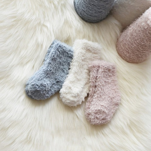 Cream Home Socks set