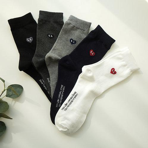 KKOM High Socks 5ea SET