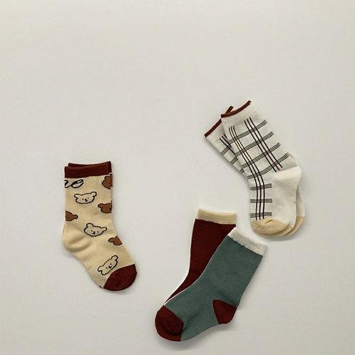 Modern Bear Socks set