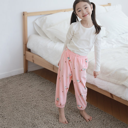 Love Cat Fleece Pajama Pants