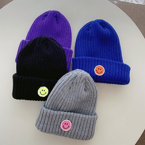 Smile Patch Beanie