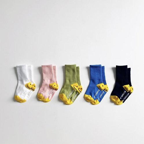 Smile Heel Socks set _5