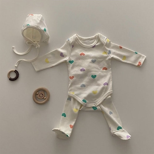 Color Heart Baby Set