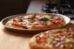 Two Fresh Pizzas